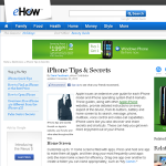 iphone tips and secrets