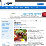 lunch and learn program design