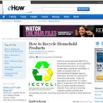 recycle household products