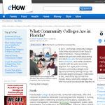 community colleges in florida