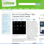 How to Use Your iPhone - Tips - Customize iPod Controls